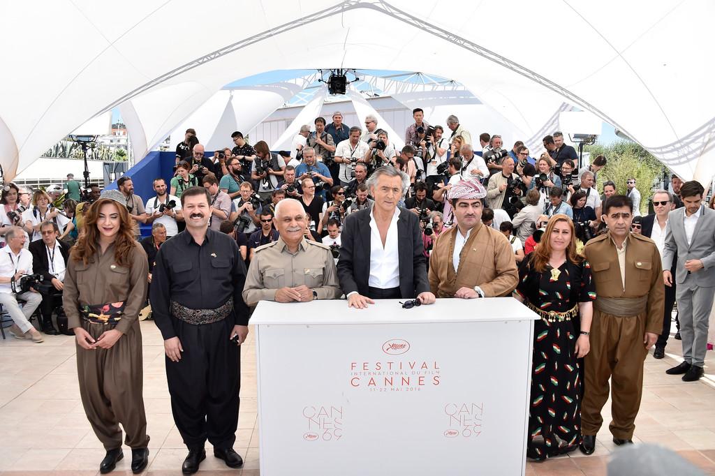 Ali_Kheder_Khatoon-lors-de-la-projection-de-peshmerga-de-Bernard-Henri-Levy