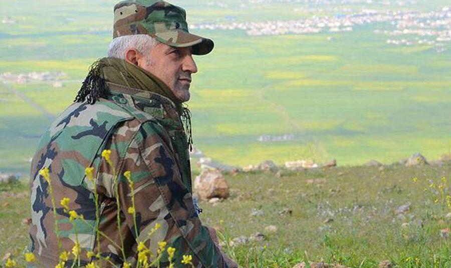 """Le Général Maghdid Herki, l'un des héros de """"Peshmerga"""", le film de Bernard-Henri Lévy."""