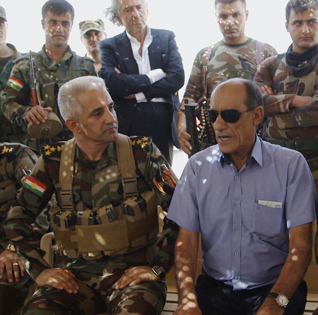 general-Magdid-Harki-lors-du-tournage-de-peshmerga