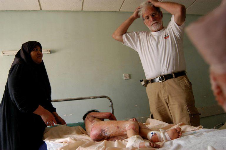 """Le docteur Jacques Bérès est l'un des héros du film """"Peshmerga"""" de Bernard-Henri Lévy"""