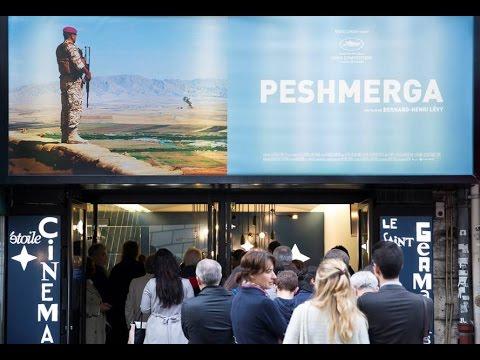 Peshmerga: rencontre avec Bernard-Henri Lévy