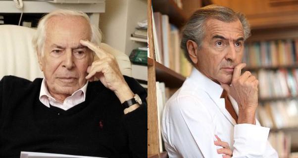 Jean Daniel et Bernard-Henri Lévy.
