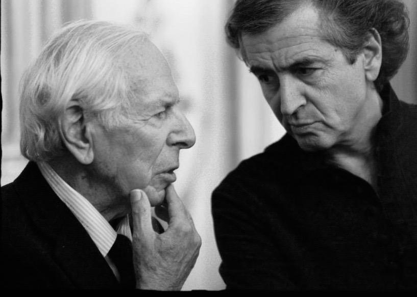 Jean Daniel et Bernard-Henri Lévy