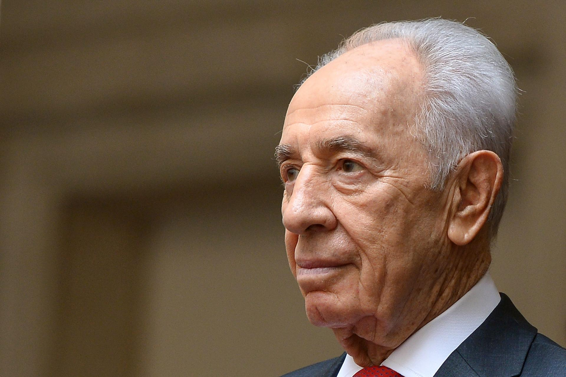 Shimon Peres, disparu le 26 septembre 2016.