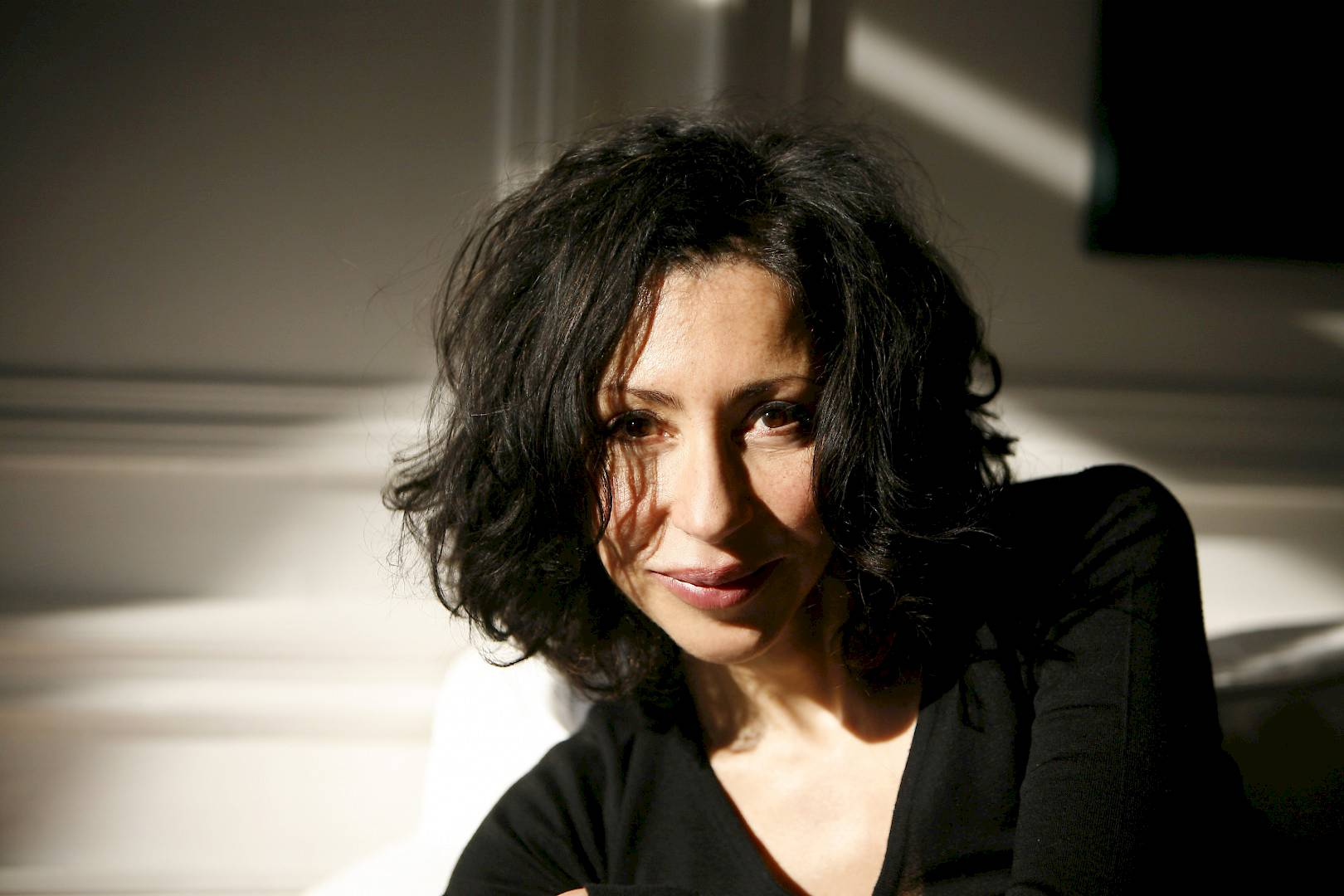 "Yasmina Reza publie ""Babylone"" (Flammarion, 2016)."