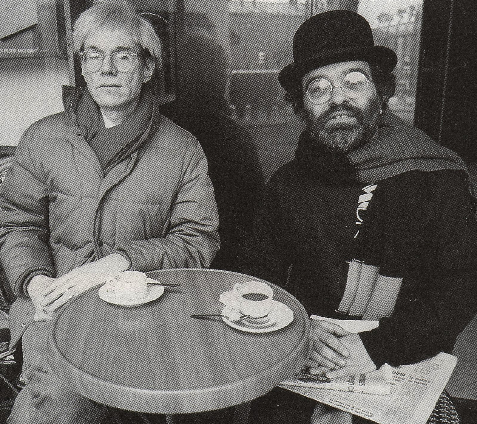 Andy Warhol et Fernando Arrabal