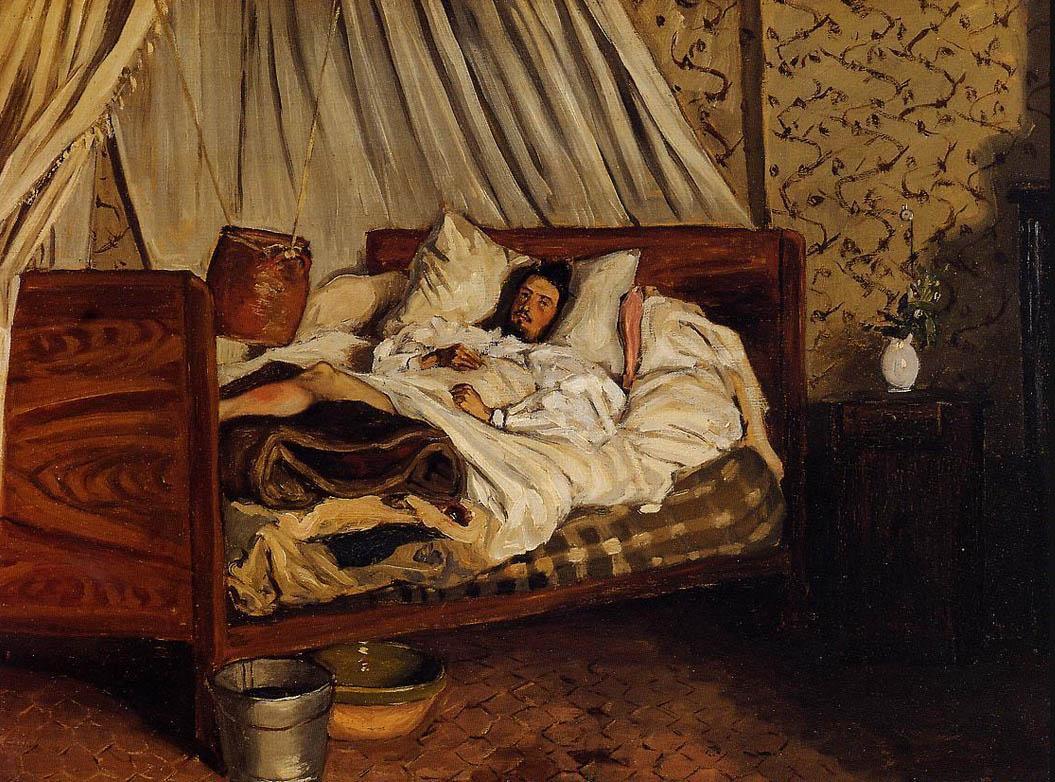 Lambulance-improvisee-bazille-1865