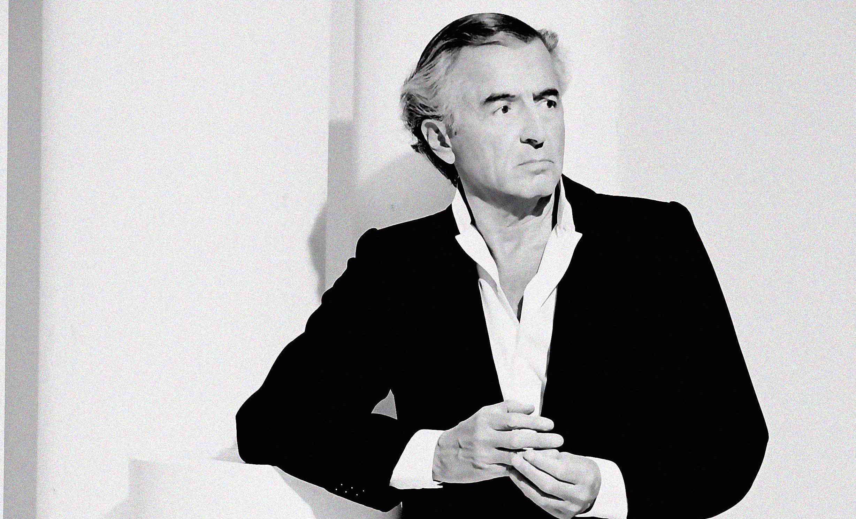 Bernard-Henri Lévy. Photo : Ali Mahdavi.