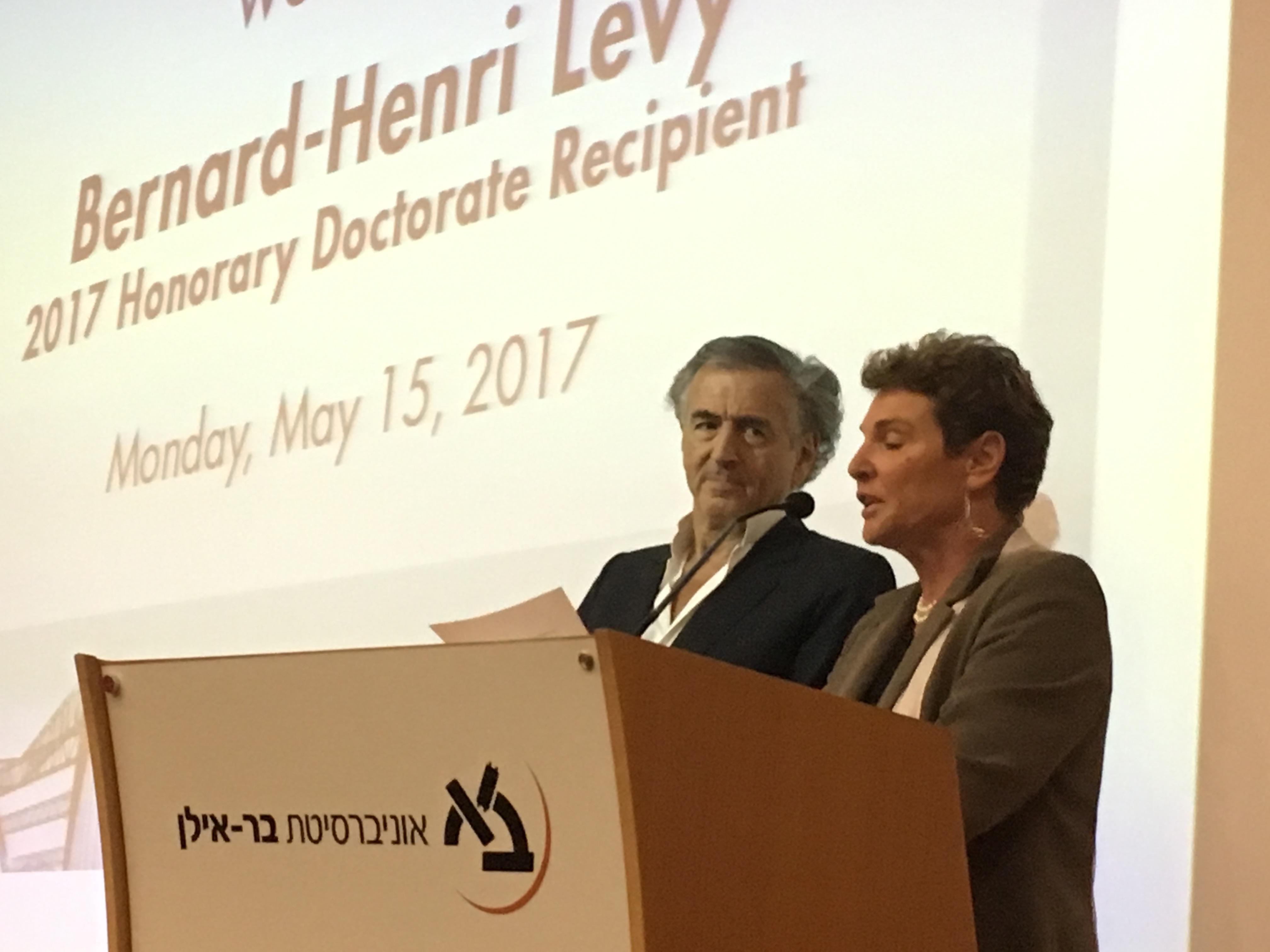 Bernard-Henri Lévy, Docteur Honoris Causa