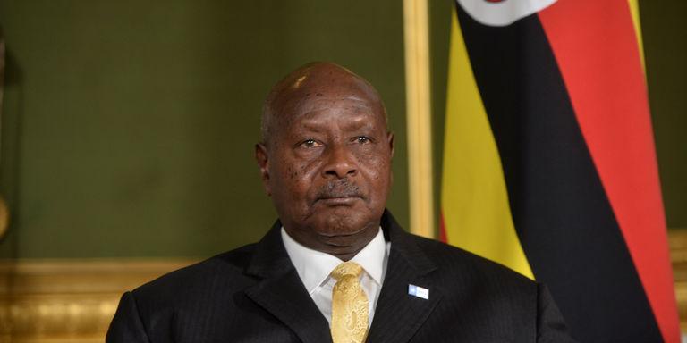 Le président de l'Ougandais, Yoweri Kaguta Museveni,