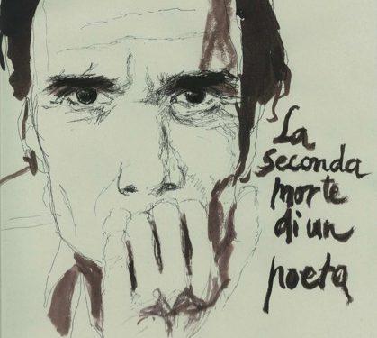 Dessin : Pier Paolo Pasolini, écrivain et cinéaste Italien