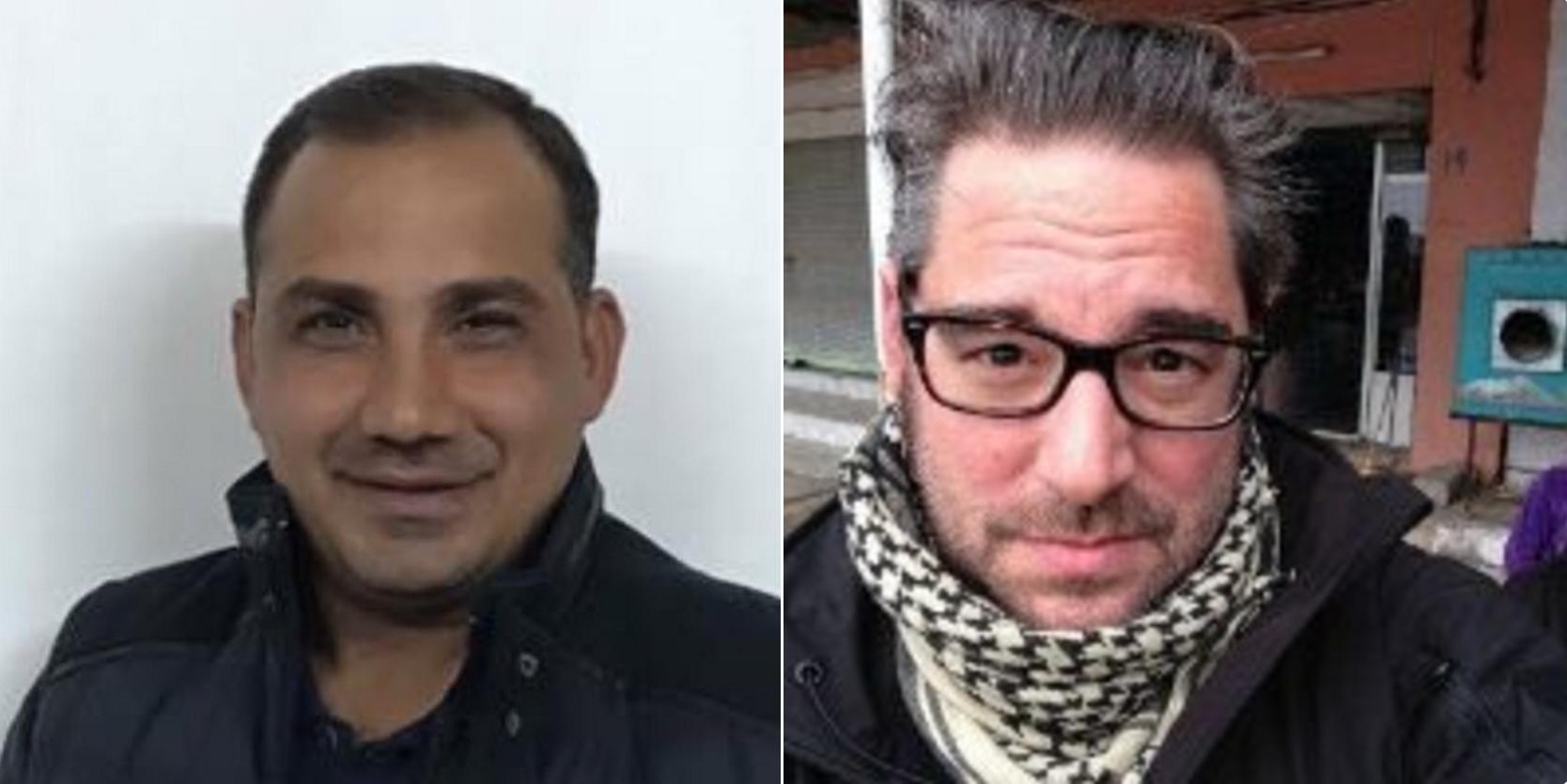 Bakhtiyar Haddad et Stephan Villeneuve