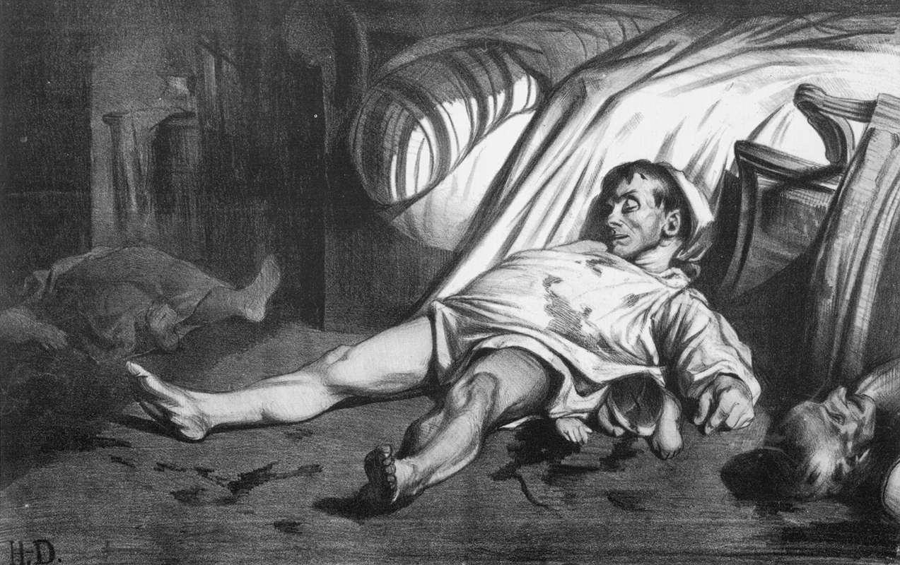 Honoré Daumier, Massacre de la rue Transnonain, 1834