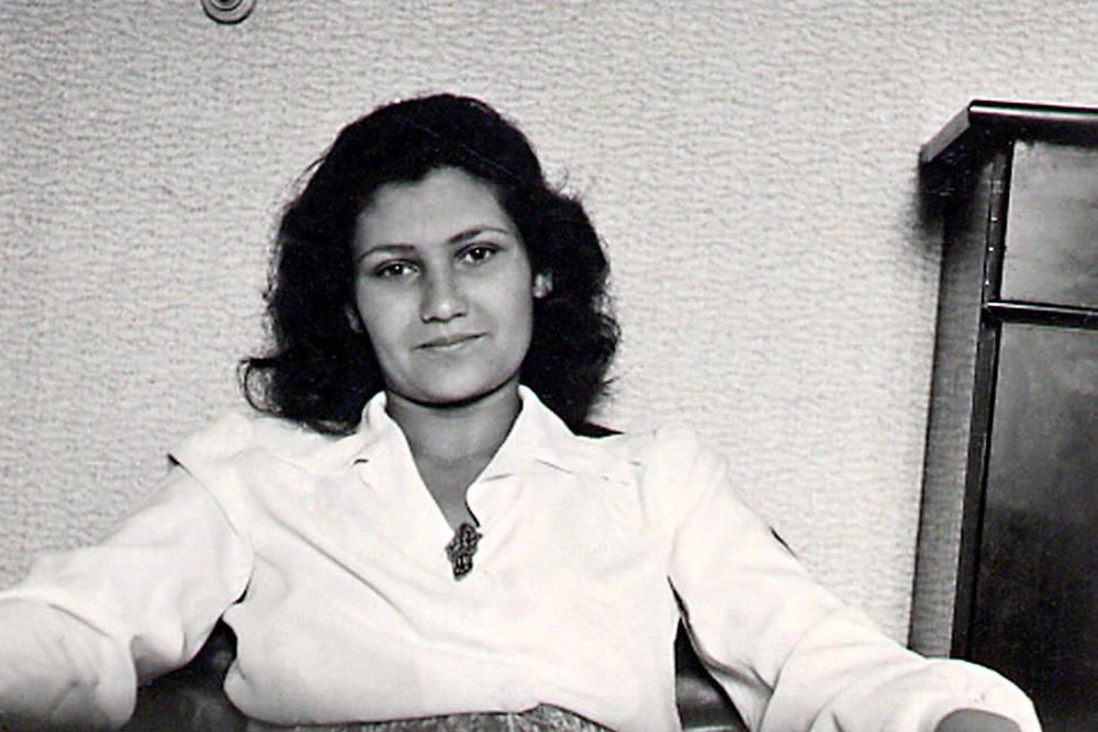 Simone Veil dans les années 50.