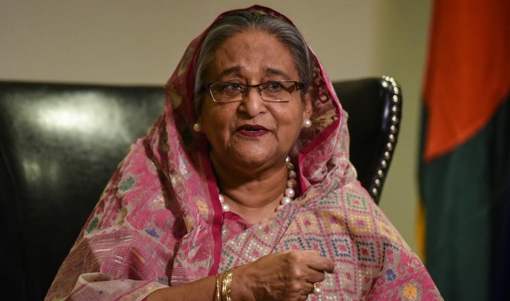 La première ministre du Bangladesh, Sheikh Hasina.