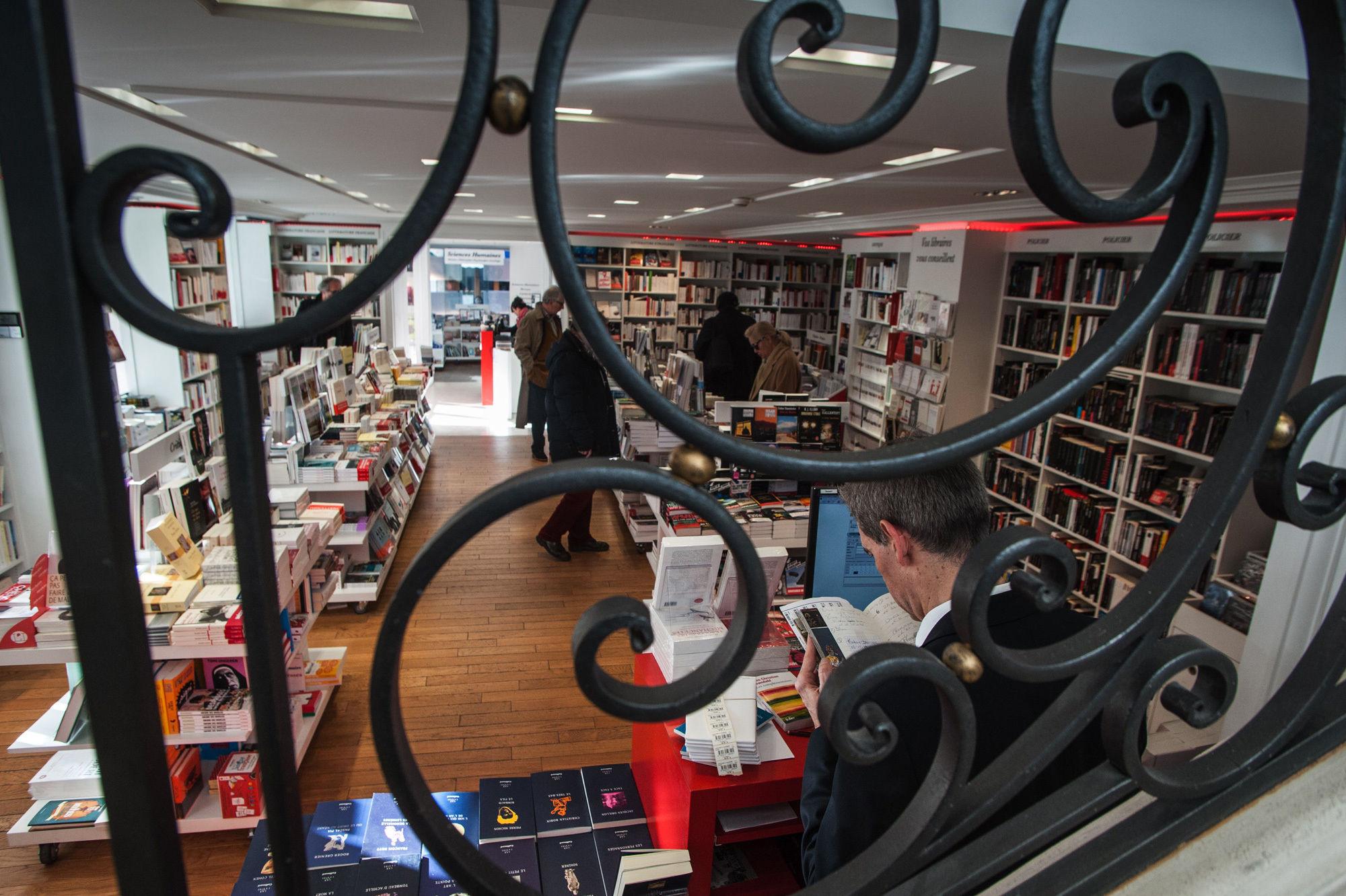 Librairie La Hune.