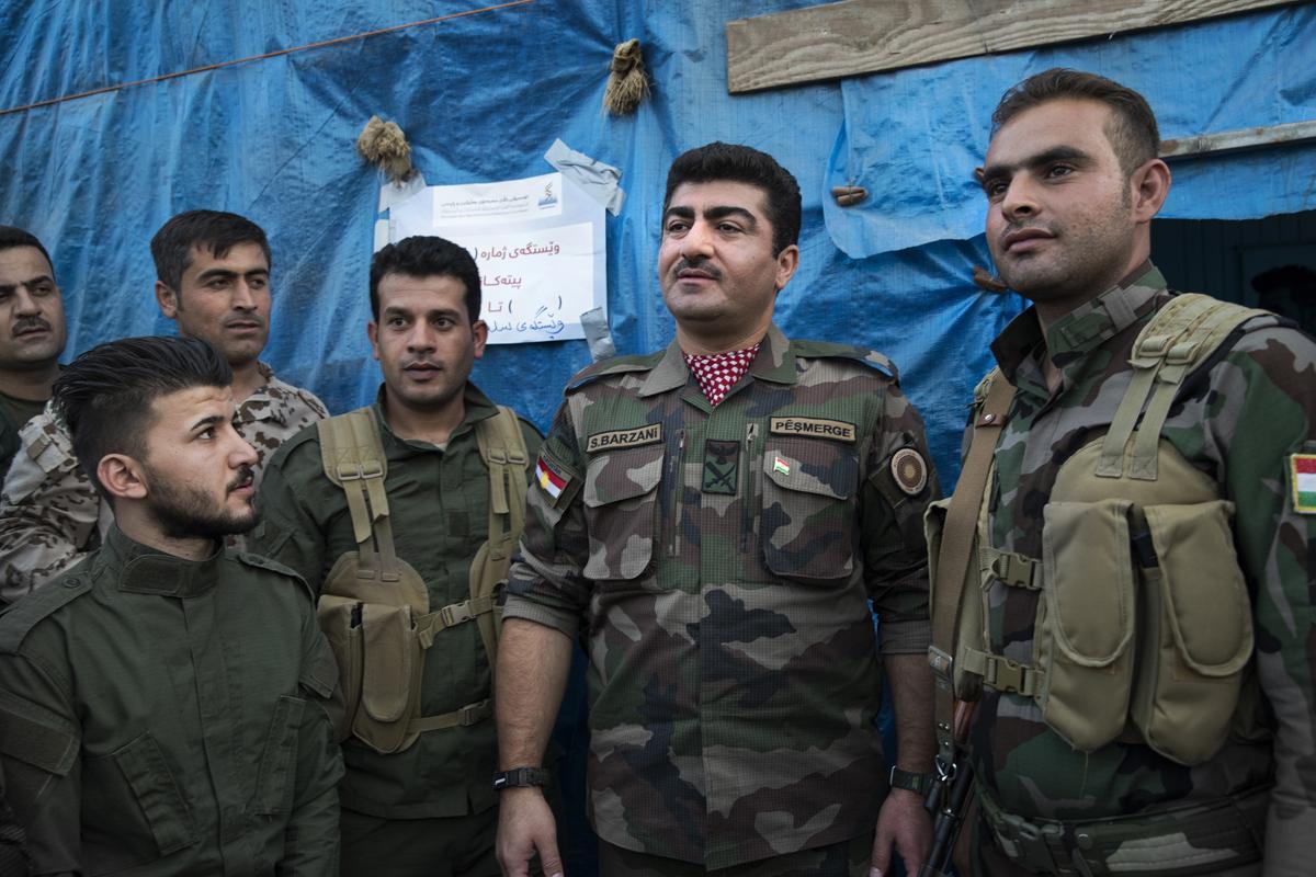 Au Kurdistan irakien à l'occasion du référendum pour l'indépendance.