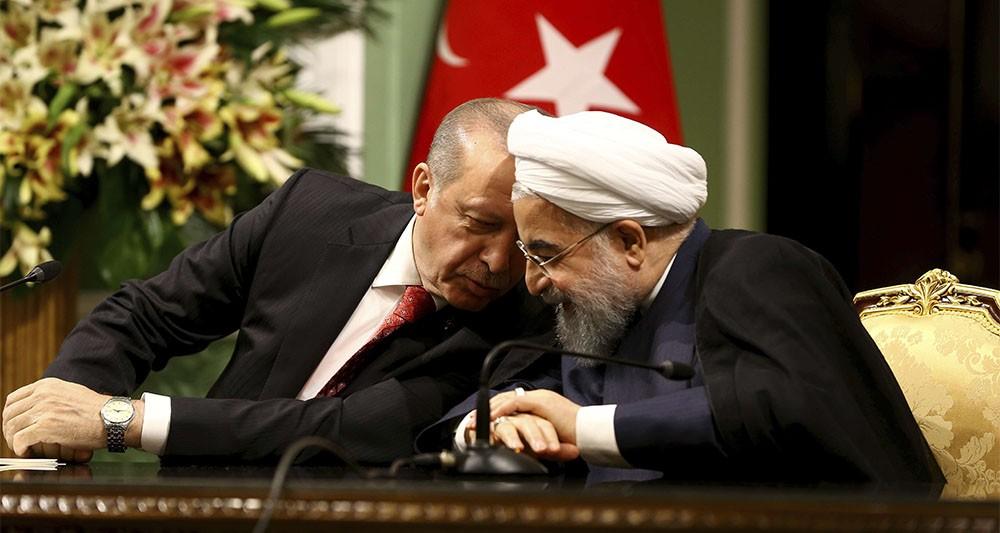 Recep Tayyip Erdogan et Hassan Rohani