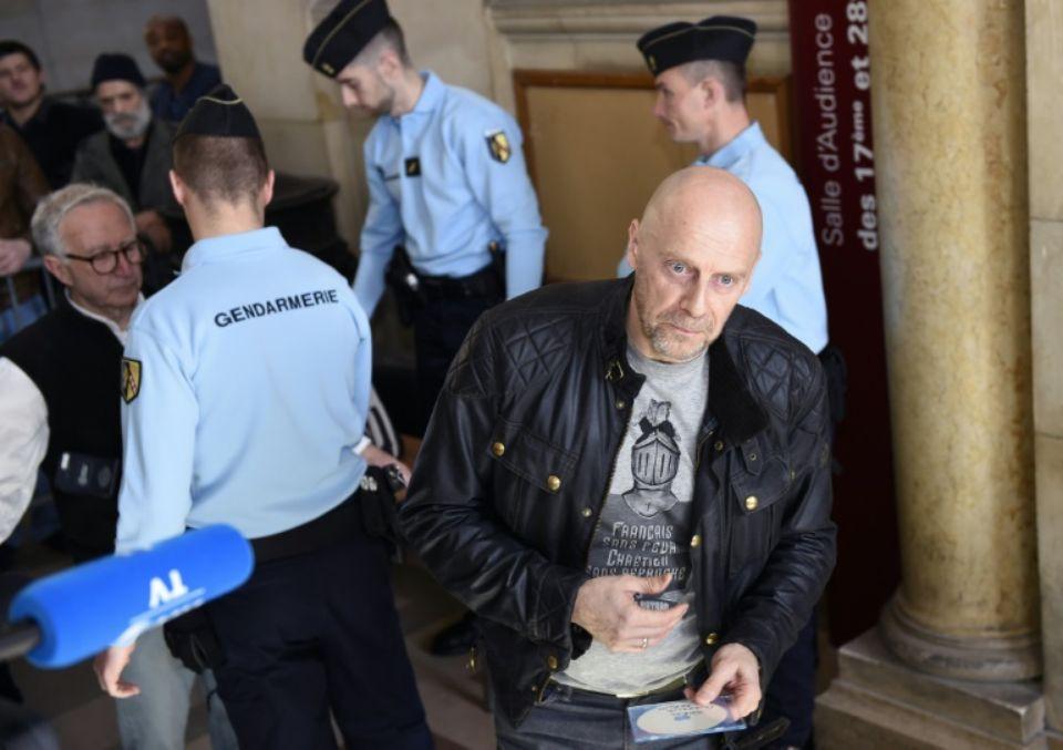 L'essayiste d'extrême droite Alain Soral, au tribunal de Paris le 12 mars 2015.