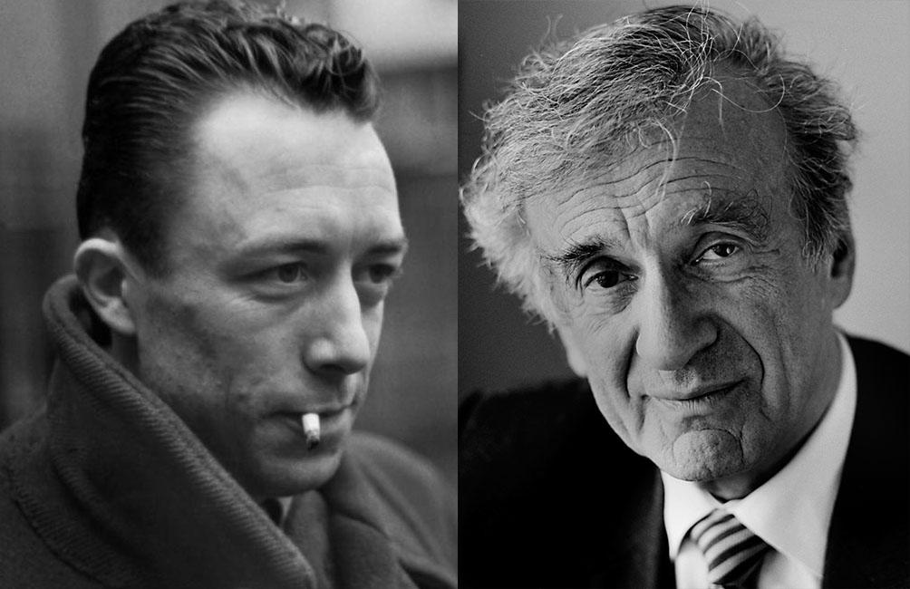 Albert Camus et Elie Wiesel