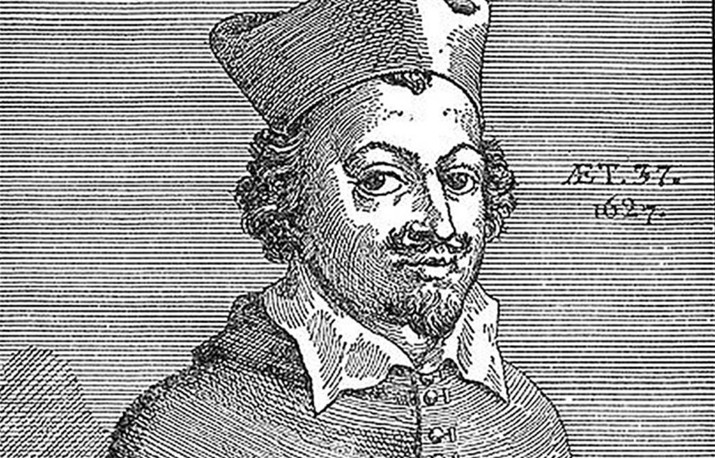 Le prêtre Urbain Grandier (1590-1634), brûlé comme sorcier sous Richelieu.