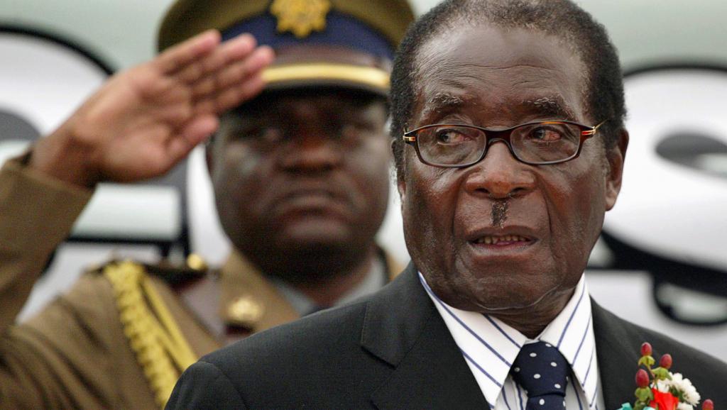 Robert Mugabe, 93 ans, a dirigé le Zimbabwe d'une main de fer pendant 37 ans.