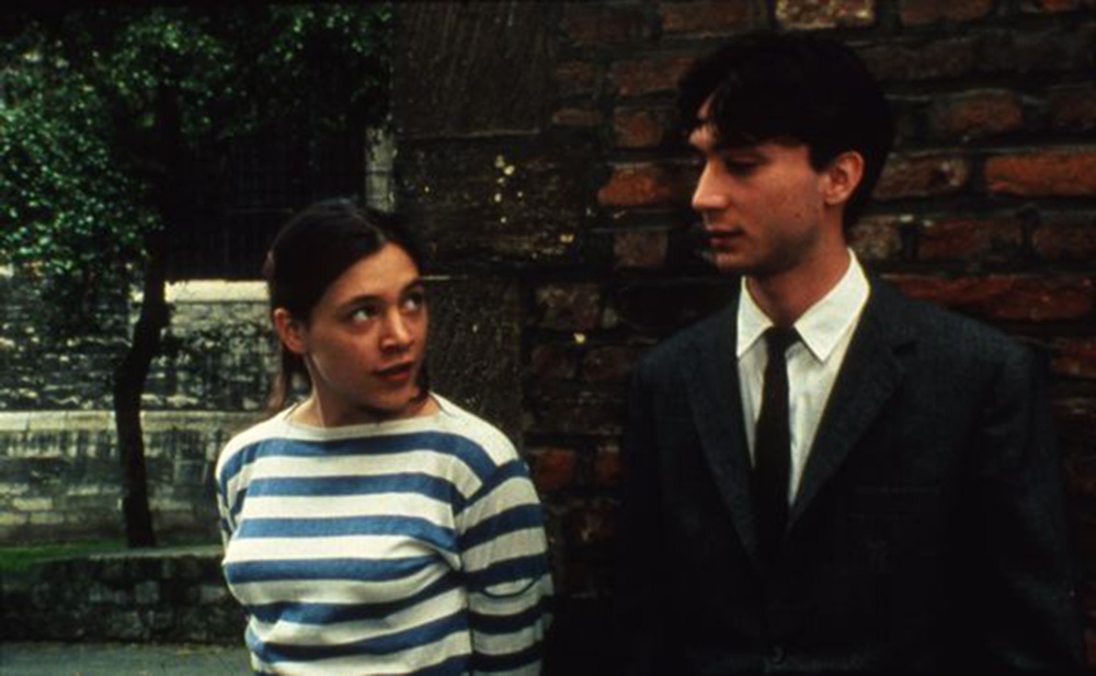 Scène du film « Portrait d'une jeune fille de la fin des années 60 à Bruxelles » de Chantal Akerman.