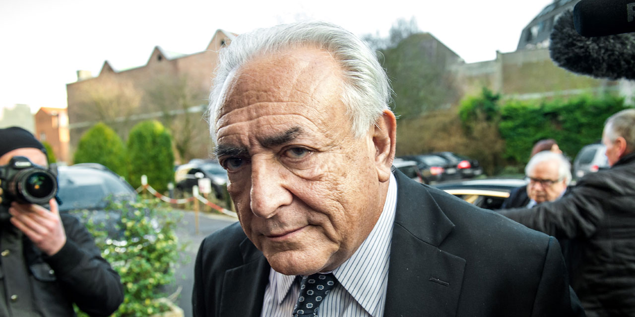 Dominique Strauss-Kahn. Photo : Philippe Huguen, AFP.