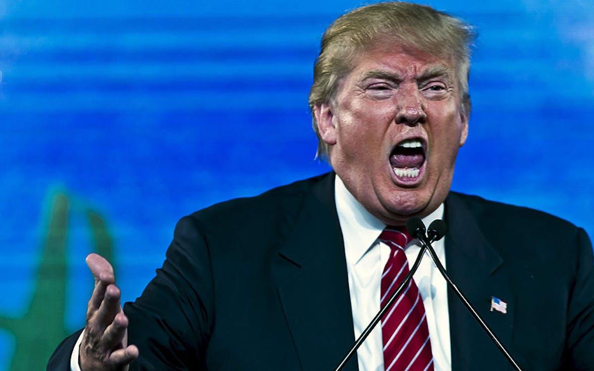 Donald Trump, président des Etats-Unis.