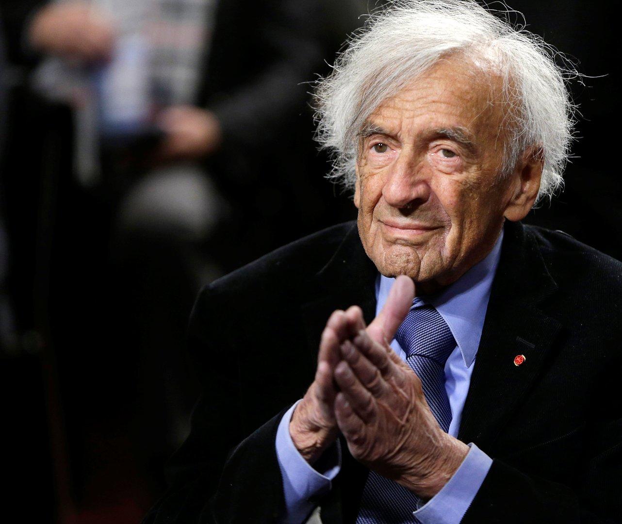 Elie Wiesel en 2015. Photo : Gary Cameron / Reuters.