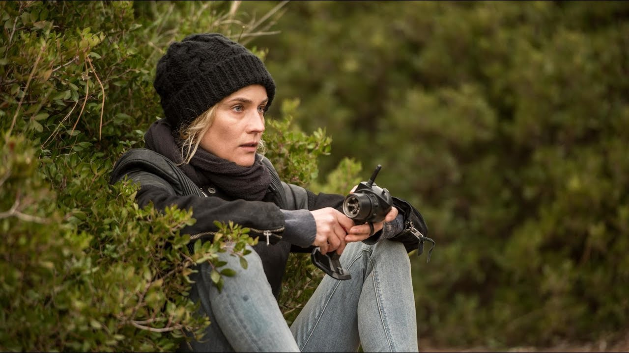 "Diane Kruger, sur le tournage de ""In the fade"". Photo : Pathé Distribution"