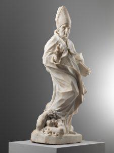 Antonio Raggi, Saint évêque triomphant sur le démon, vers 1655, 104 cm, galerie Walter Padovani.