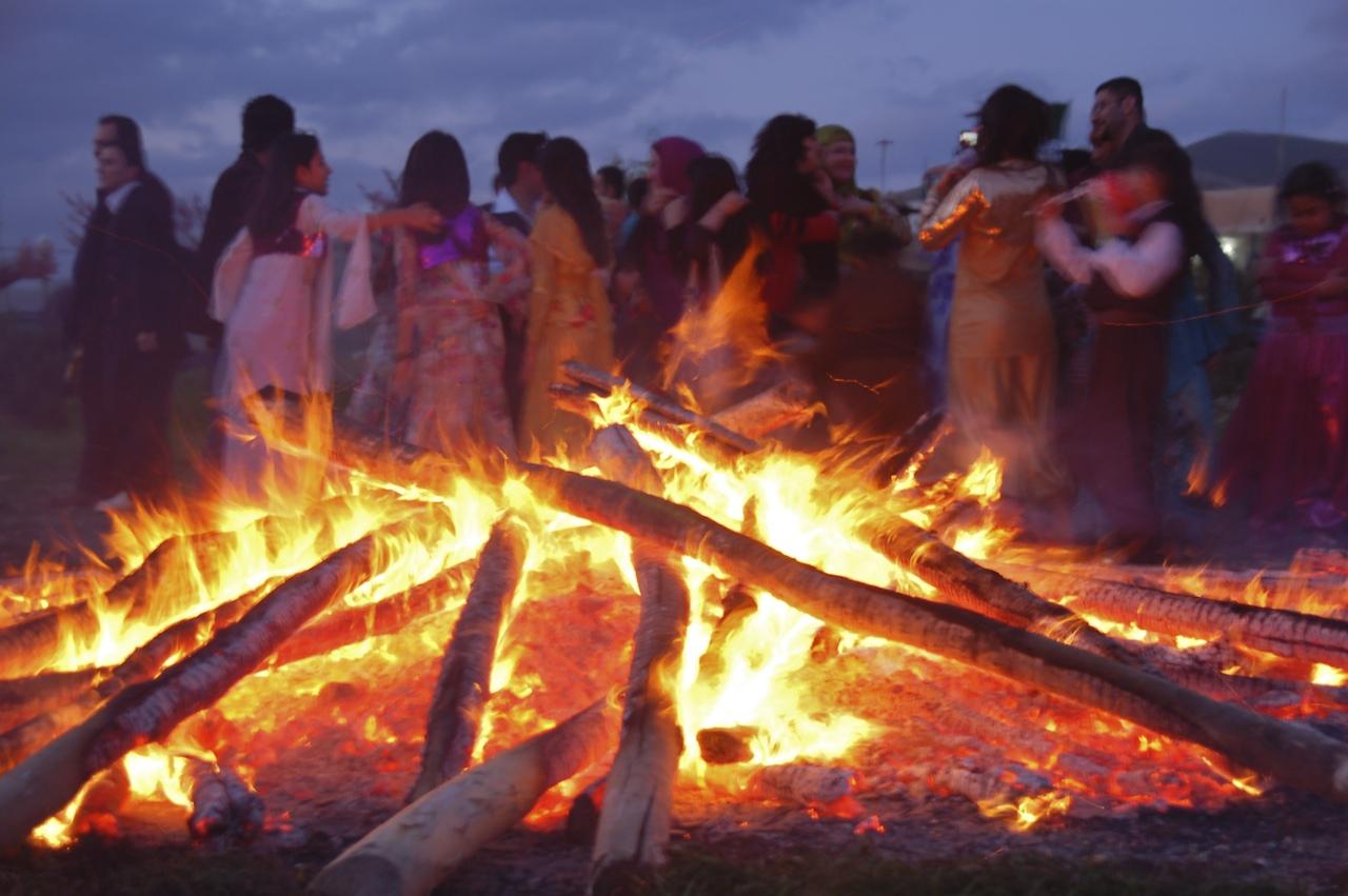 Célébration de Newroz à Soleimaniya, dans le Kurdistan Irakien, 2010.