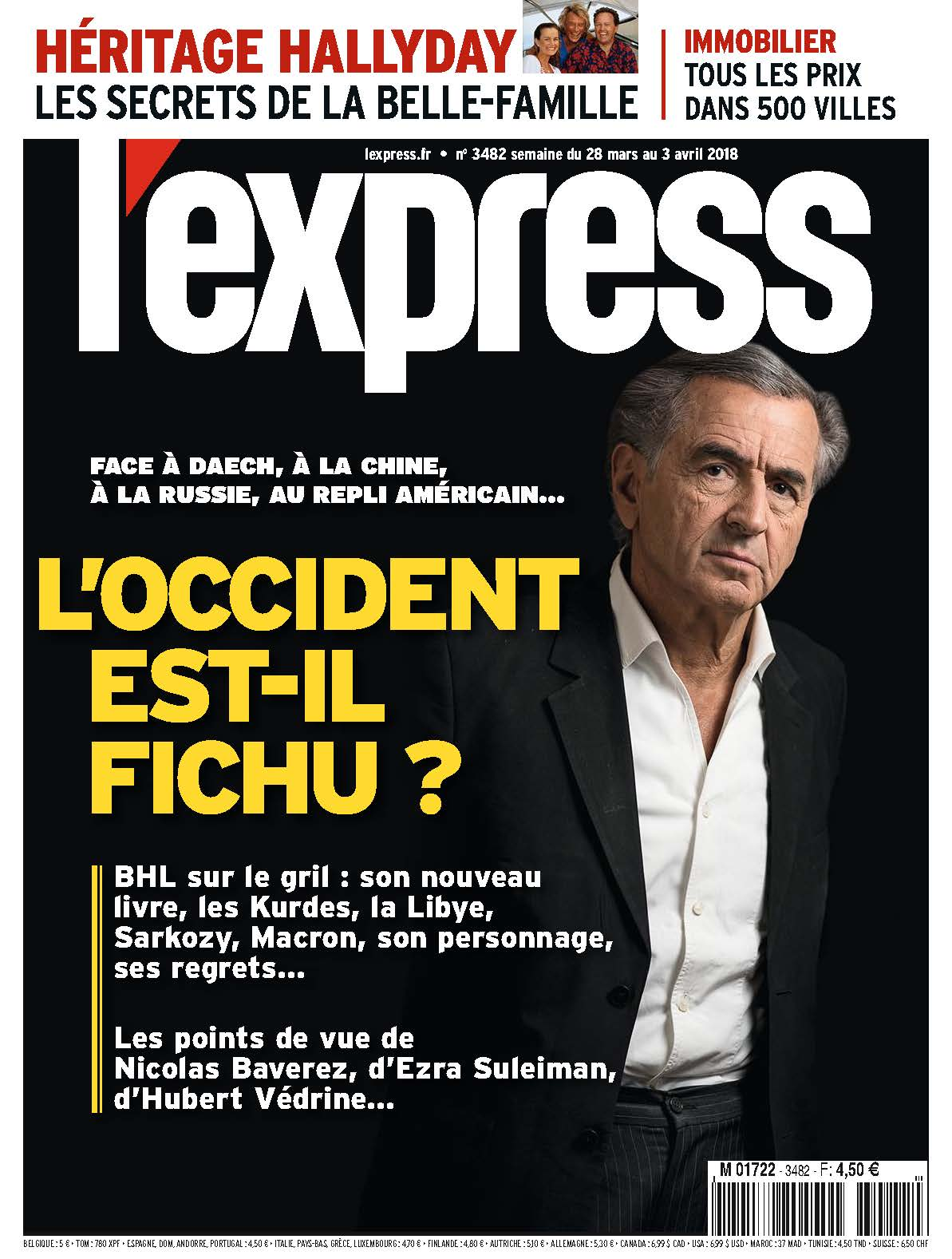 La Une de L'express