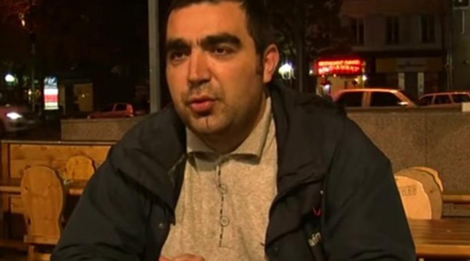 Capture écran d'un entretien diffusé sur Youtube avec Rahim Namazov, journaliste originaire d'Azerbaïdjan exilé en France depuis 2010.