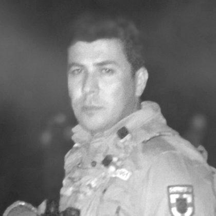 Rebin Rozhbayane, commandant Peshmerga.
