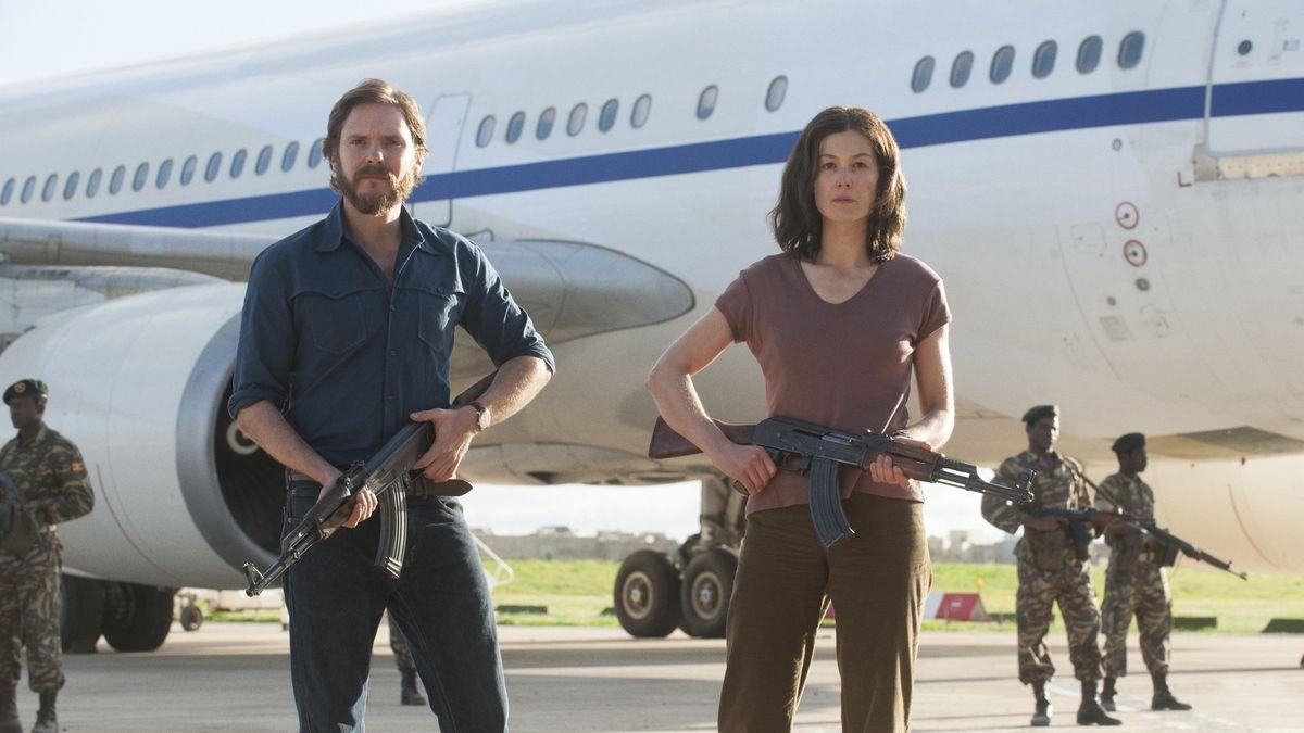 Scène du film «Otage à Entebbe».