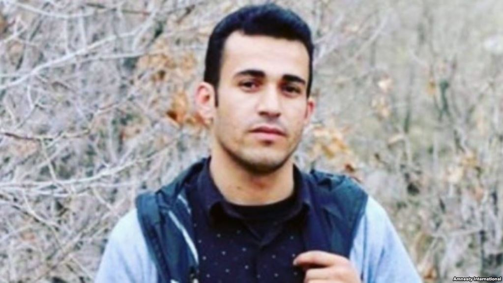 Le dissident kurde iranien Ramin Hossein Panahi. Image partagée par Amnesty international.