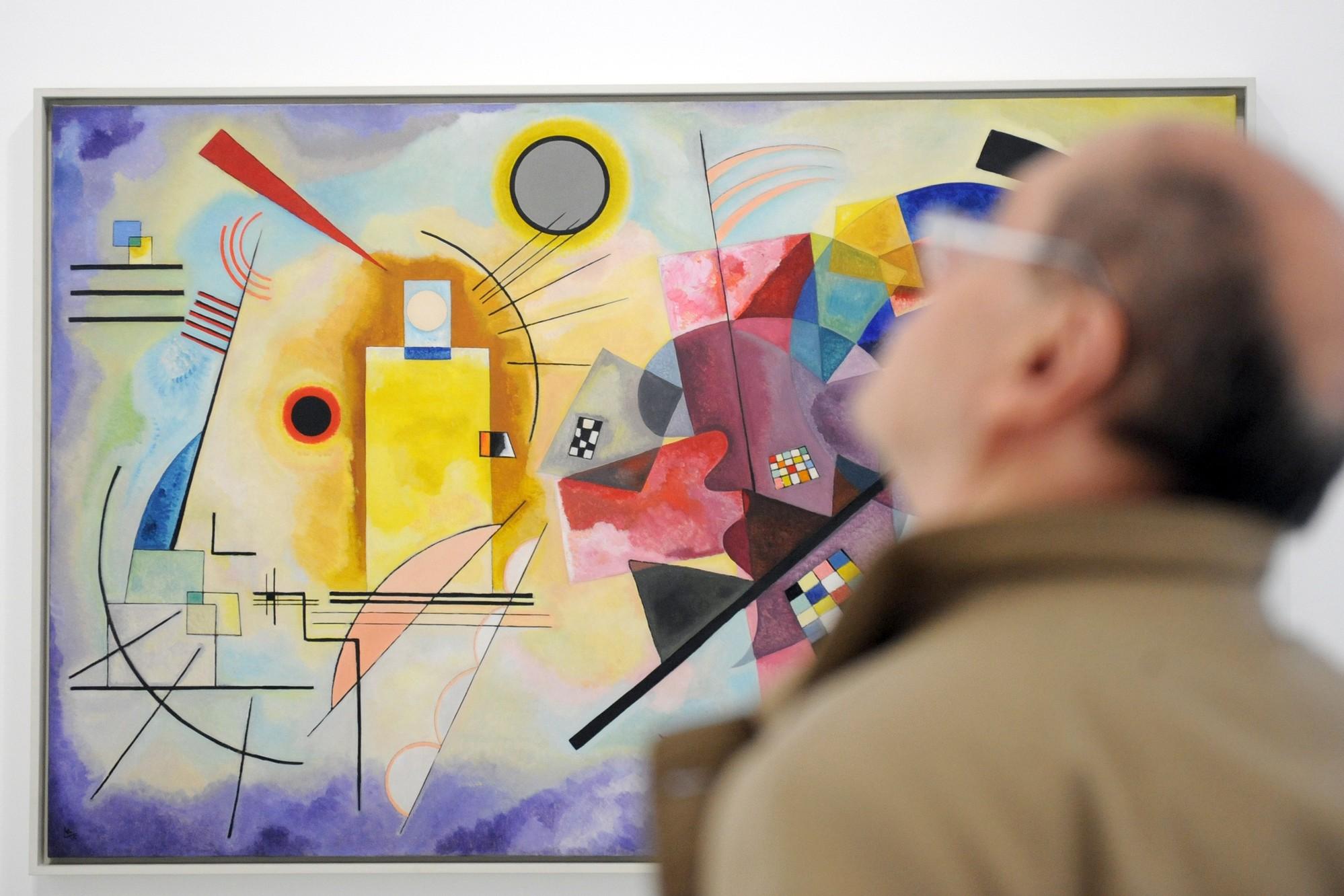 Exposition Kandinsky au Centre Pompidou en 2009