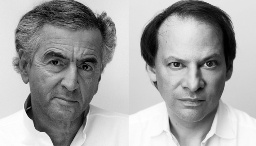 Bernard-Henri Lévy et Adam Gopnik.