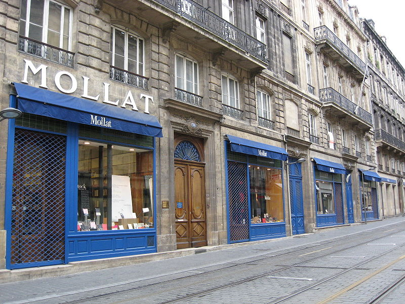 La librairie Mollat.