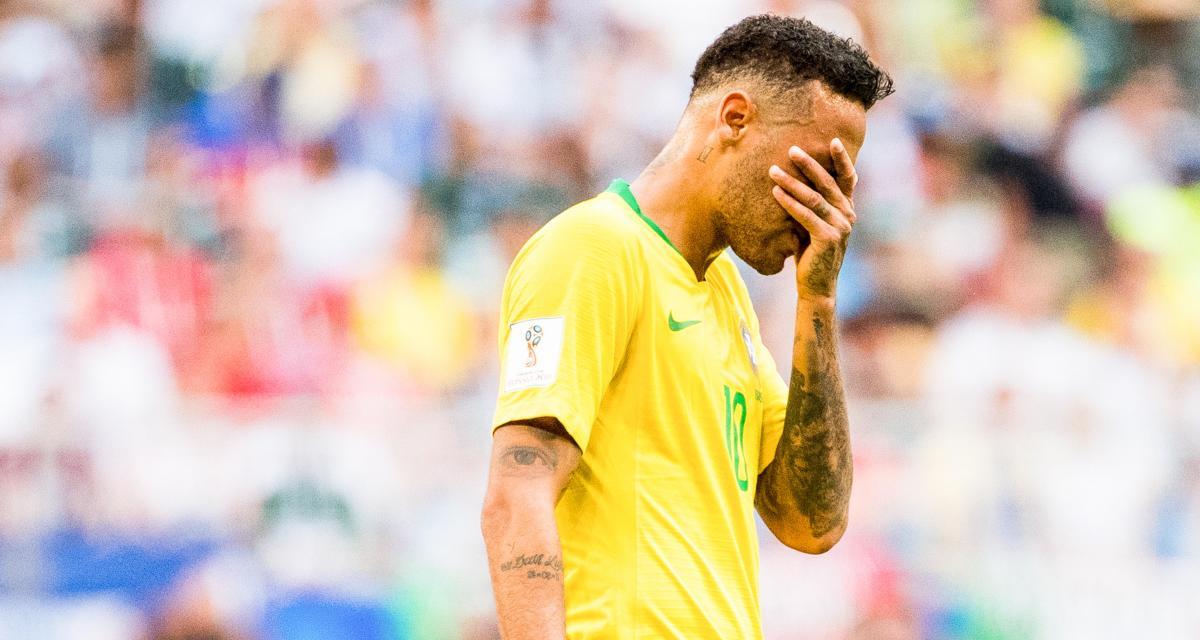 Neymar, attaquant brésilien de la Seleção et du Paris Saint-Germain.