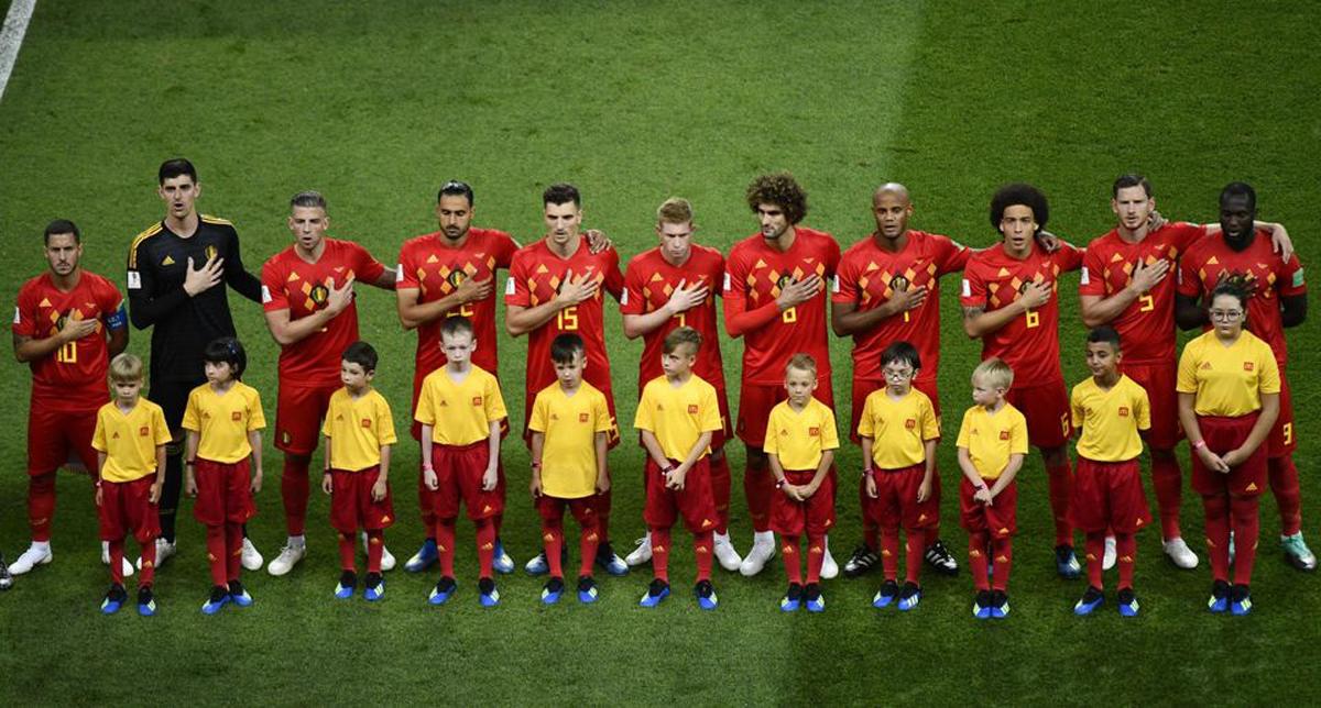 La sélection de Belgique.