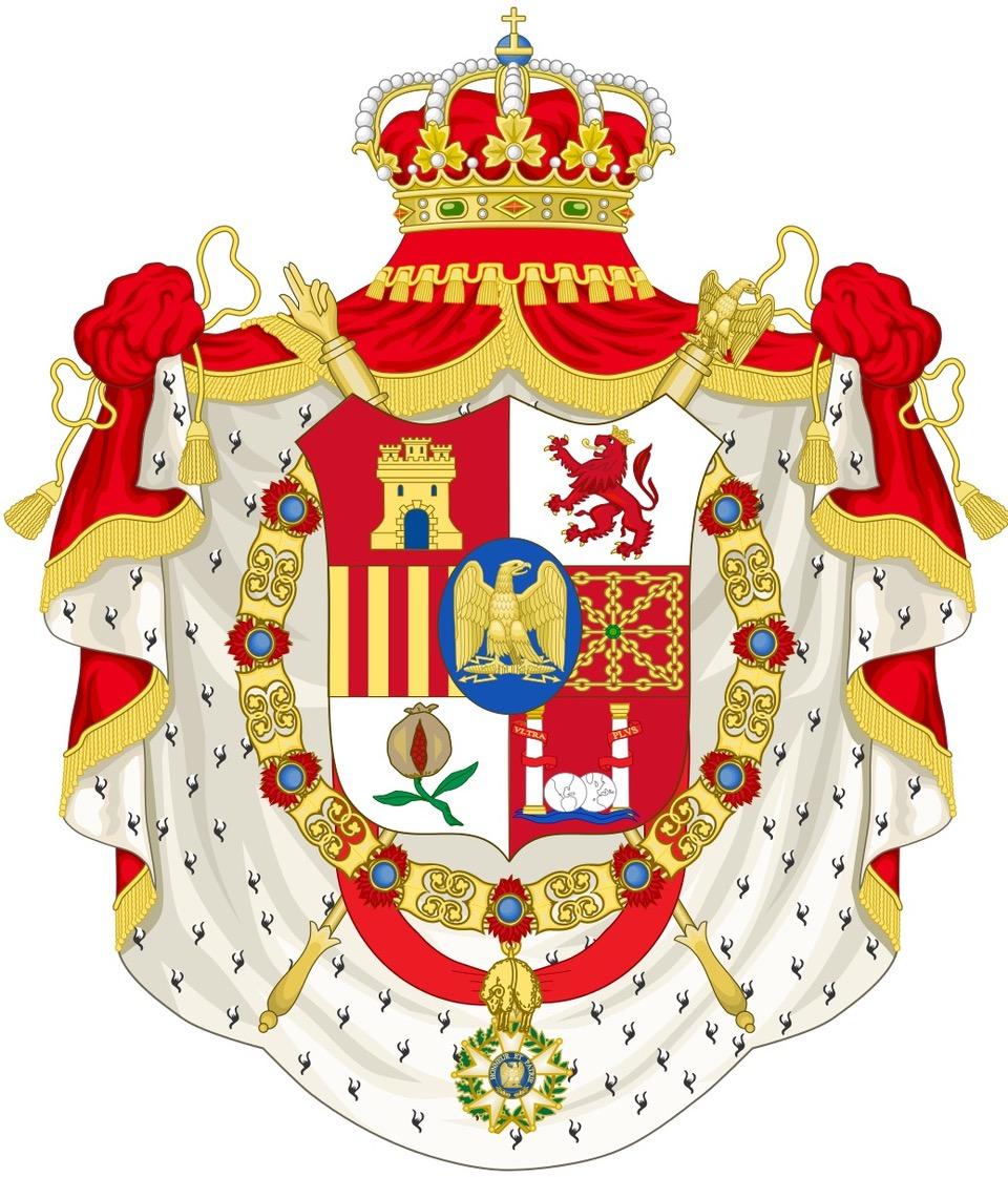 Hispaniarum-et-Indiarum-Rex-1808-1813