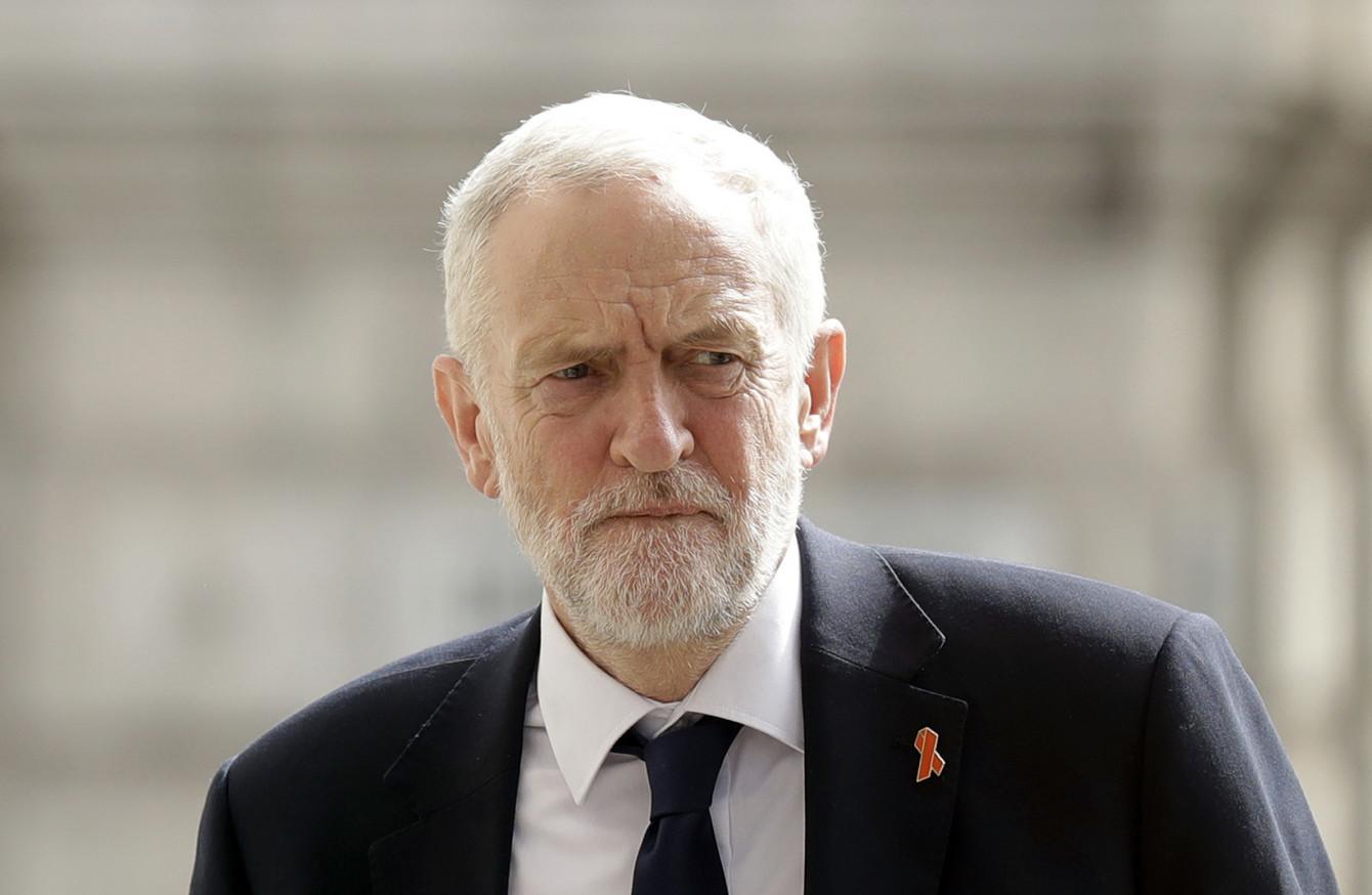 Jeremy Corbyn, membre du parti travailliste anglais.