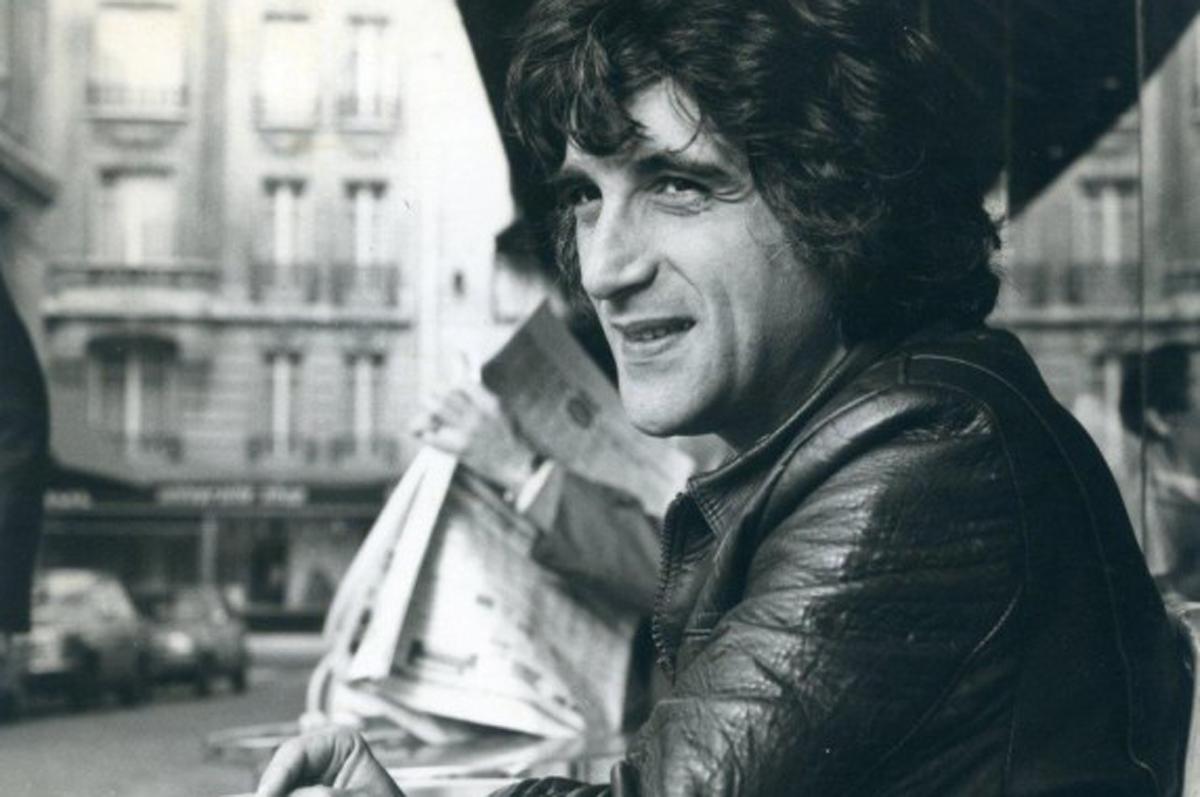 Michel Butel en 1977.