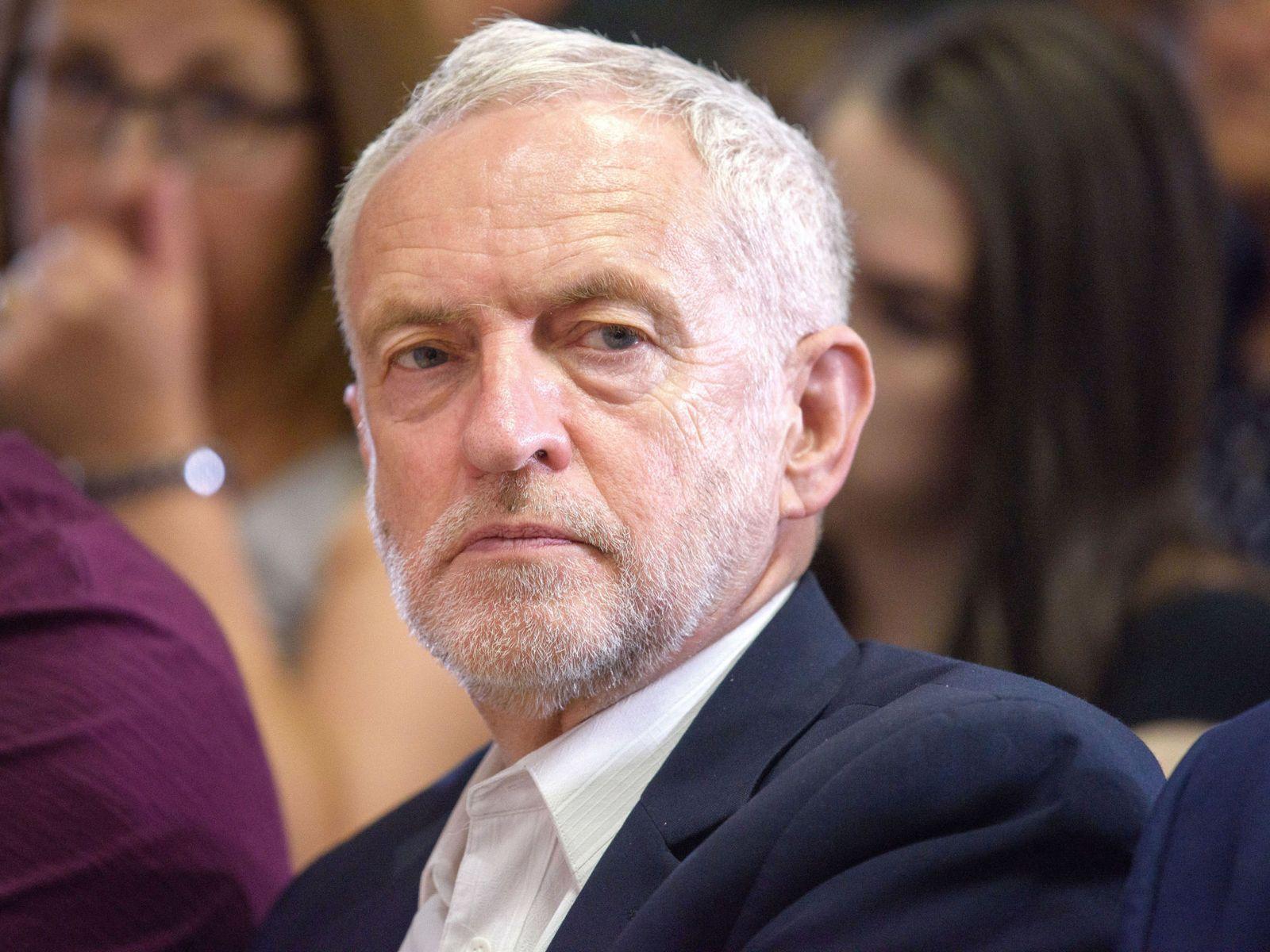 Jeremy Corbyn, leader du parti travailliste britannique.