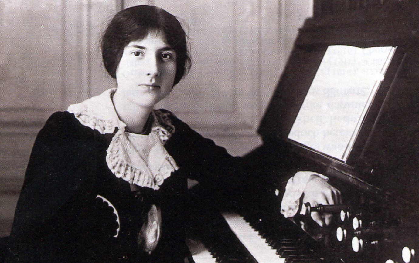 La compositrice Marie Juliette Boulanger, dite Lili Boulanger.