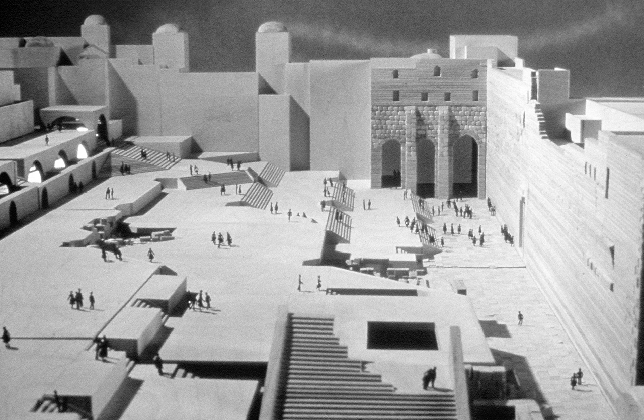 Moshe-Safdie-plan-for-the-Western-Wall-Precinct-1974-model-Safdie-Architects-Archive
