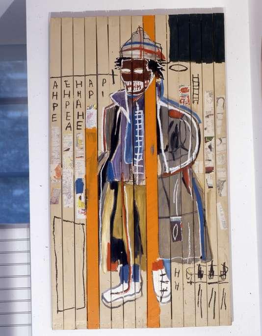 «Anthony Clarke» (1985), de Jean-Michel Basquiat.ESTATE OF JEAN-MICHEL BASQUIAT / LICENSED BY ARTESTAR, NEW YORK